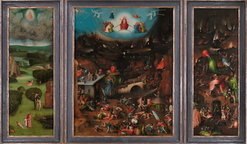 Bosch's triptych, The Last Judgment