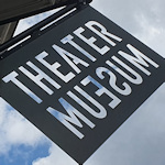 Theater museum sign