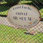 Ernst Fuchs Museum sign