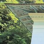 Corner of the Otto Wagner villa