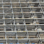 Scaffolding on the Rathaus
