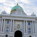 Michaelerplatz Hofburg entrance