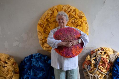 Sheila Hicks and works