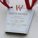 Sign outside the Kirche am Hof