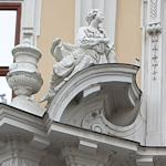 Baroque portal decoration