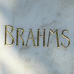 Brahms name on gravestone