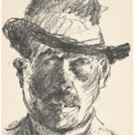 Corinth self-portrait