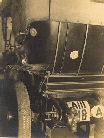Franz Ferdinand's car, 1914