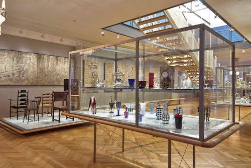 Mak permanent exhibition; Vienna 1900