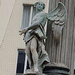 Angel statue on the Vermählungsbrunnen