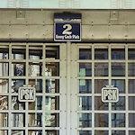 Postsparkasse entrance