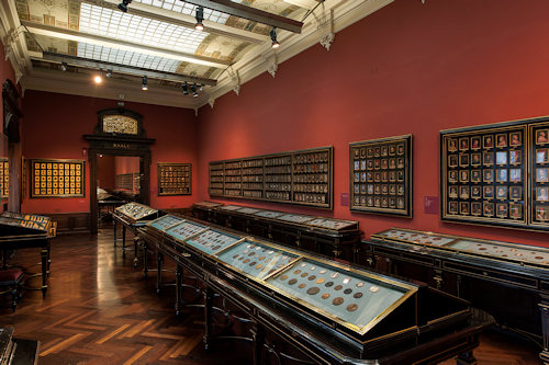 Coin exhibition rooms at the Kunsthistorisches Museum