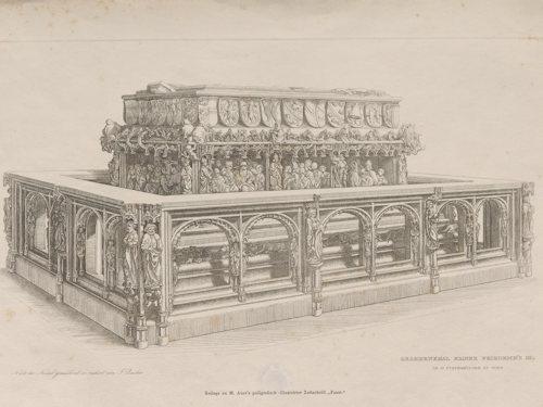 Frederick III's grave