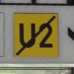 U2 sign