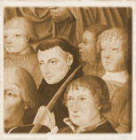 Excerpt from an altar panel