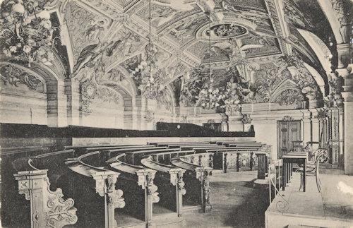 Sitzungssaal in Palais Niederösterreich