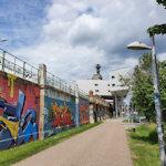 Art along the Donaukanal