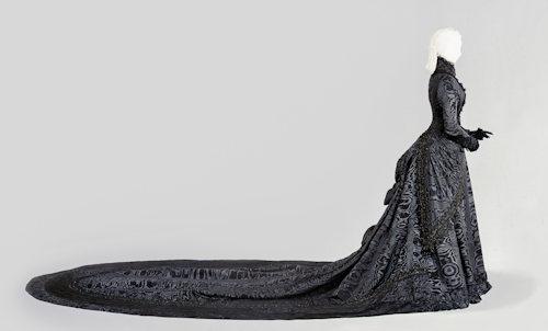 A dress of Empress Elisabeth