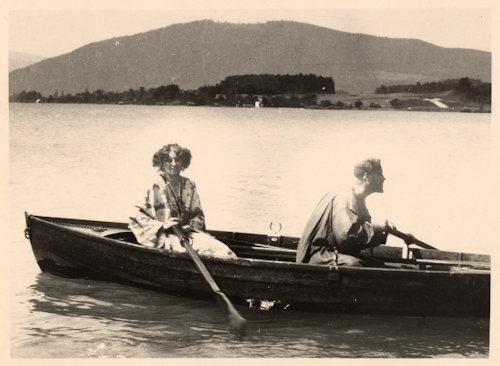 Gustav Klimt and Emilie Flöge