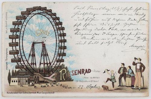 The Riesenrad in 1897