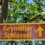 Geymüllerschlössel road sign