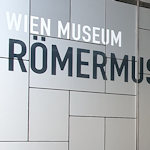 Outside the Roman museum