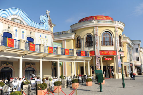 Madame Tussauds from outside  © Madame Tussauds Wien