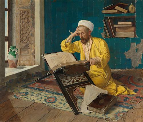 Osman Hamdi Bey painting © Johannes Stoll / Belvedere, Vienna
