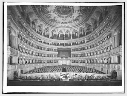 Staatsoper auditorium; Wien Museum Inv.-Nr. 211273